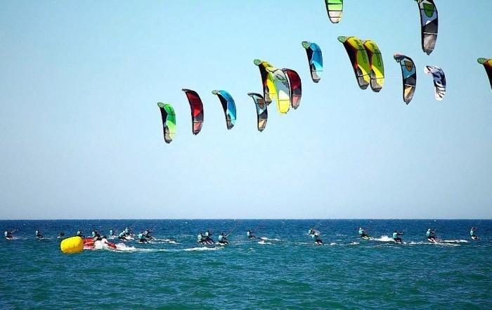 Kitesurf alle cesine, strada bianca San Cataldo Vernole (Lecce)