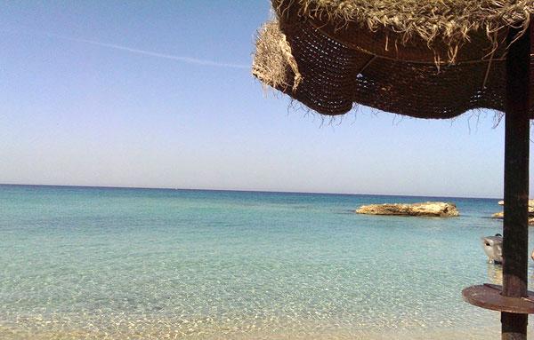spiaggia la caciulare a San Foca (Salento)