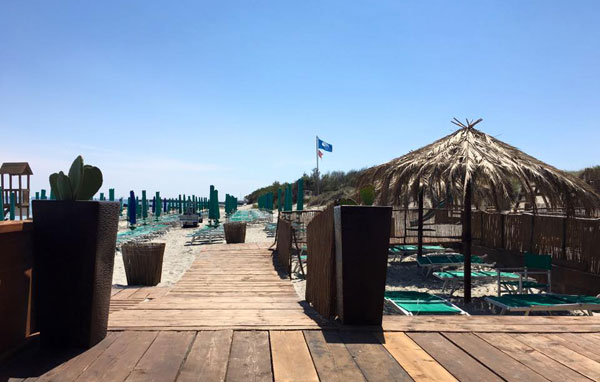 spiaggia e lido San Basilio a San Foca (Salento)